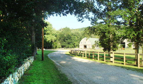 Entrance to River Run Farm